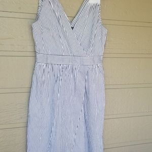 Banana Republic Striped Sleeveless dress